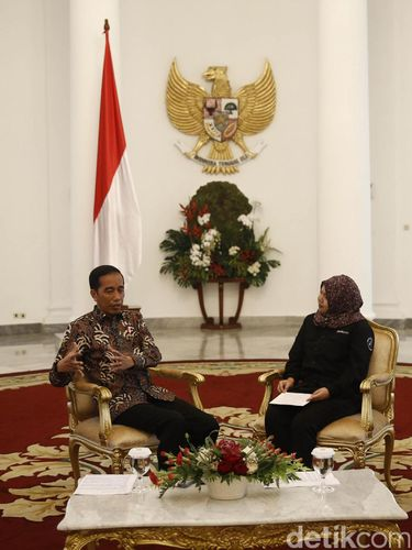 Wawancara ekslusif detikcom dengan Presiden Joko Widodo /
