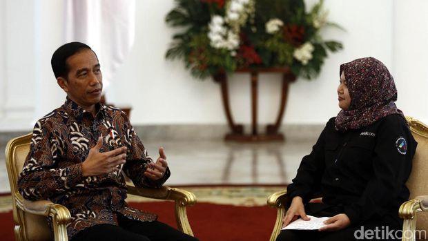 Jokowi: Kita Terjebak Hoax, Panas di Medsos