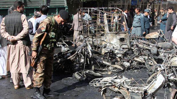 7 Orang Tewas dalam Ledakan Bom di Dekat Masjid di Afghanistan