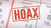 Info beredar tentang keracunan arsenik adalah hoax