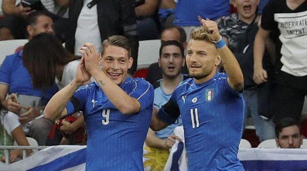 Timnas Italia akan menjalani pertandingan 'play-off' untuk mendapatkan tempat di Piala Dunia 2018.