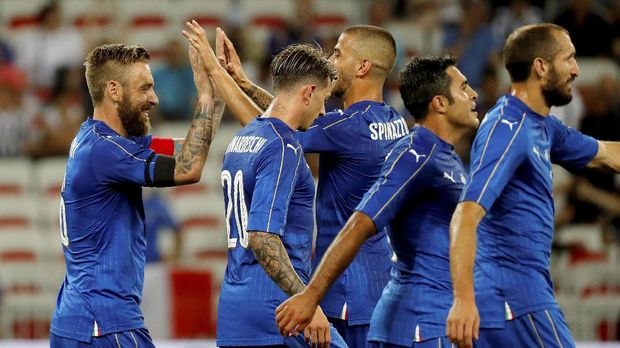 Italian national team will be met Sweden in the play-off phase of the 2018 World Cup European zone.  (