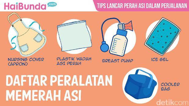 Tips lancar memerah ASI