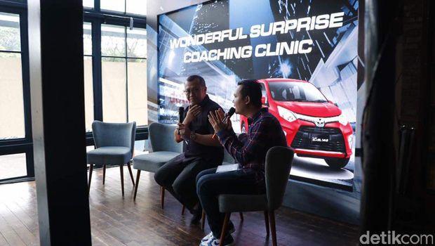 PR Manager PT Toyota-Astra Motor Rouli H Sijabat di Coaching Clinic detikOto