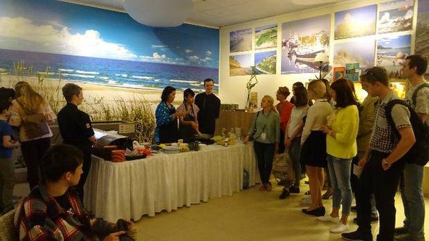 Demo masak dan uji coba kuliner nusantara (KBRI Moskow)