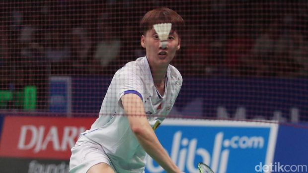 Chen Yufei dikalahkan Gregoria Mariska Tunjung di babak pertama Indonesia Open 2017.