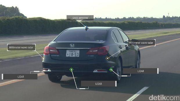 Aneka sensor dan radar yang membantu mobil 'melihat' di jalanan
