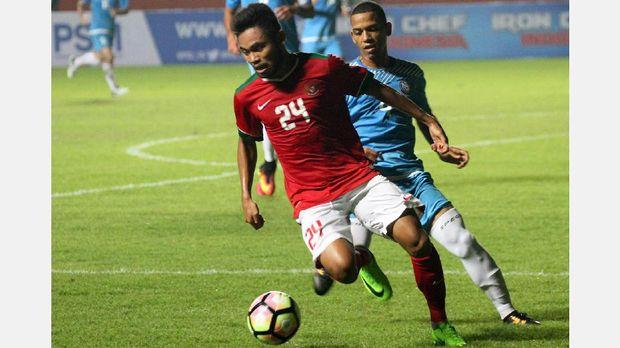 Saddil Ramdani mencetak dua gol ke gawang Mongolia.