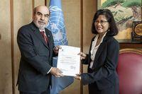Dirjen FAO dan Duta Besar, Esti Andayani