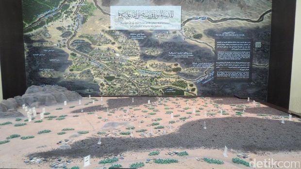 Kota Madinah semasa hidup Nabi Muhammad (Fitraya/detikTravel)