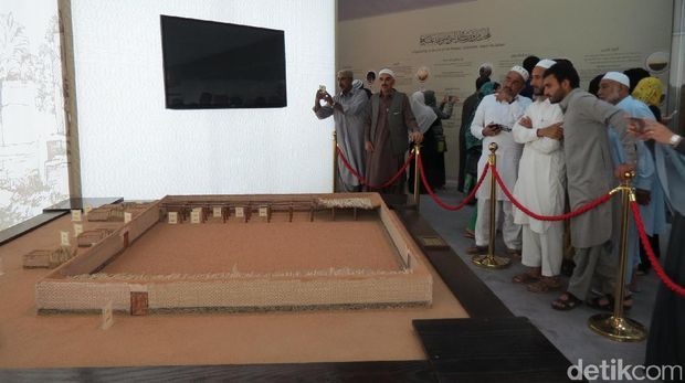 Bentuk awal Masjid Nabawi (Fitraya/detikTravel)