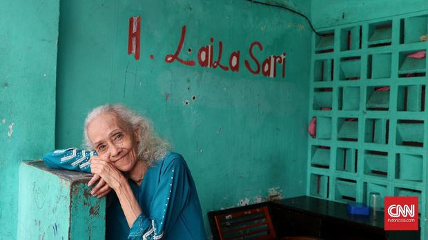 Laila Sari masih setia tinggal di kampung artis Tangkiwood.