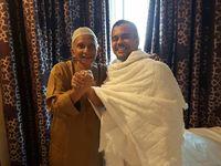 Ini yang Dibicarakan Petinggi PKS Saat Bertemu Habib Rizieq di Mekah