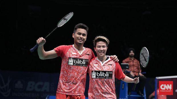 Tontowi/Liliyana juara Indonesia Terbuka 2017.