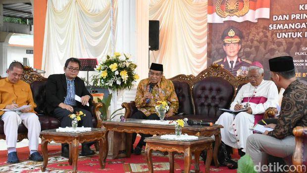 Acara dialog kebangsaan di Simalungun, Sumut.
