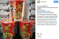 Soal Mie Instan Korea Mengandung Babi, Ini Kata Salah Satu Penjual Produk Makanan Korea