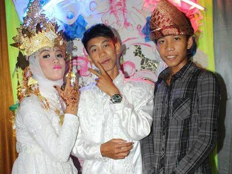 Viral, Pasangan Siswa SMP Menikah Dini