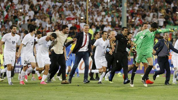 Iran masih menjadi negara Asia dengan peringkat terbaik di ranking FIFA.
