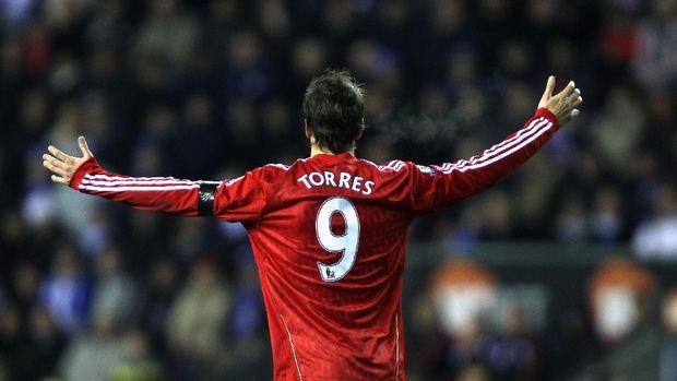 Fernando Torres, pemilik nomor 9 terakhir yang sukses di Liverpool