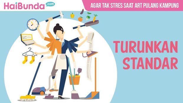 Tips hindari stres saat ART mudik
