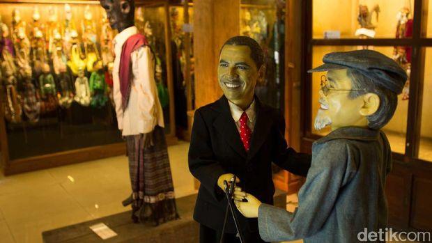 Wayang golek Obama (Randy/detikTravel)