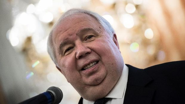 Duta Besar Sergei Kislyak menjadi tokoh kunci dalam kekisruhan Rusia-AS.