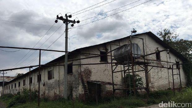 Pabrik gula peninggalan Belanda di Brebes