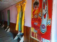 Bilik-bilik asmara di lokalisasi di Merauke.