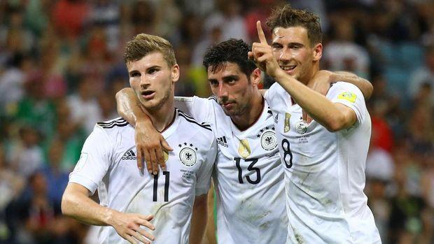 Timnas Jerman jadi yang tersubur di kualifikasi Piala Dunia 2018 zona Eropa.