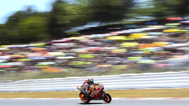 Marc Marquez berhasil menjuarai GP Ceko 2017 tanpa rintangan berarti.