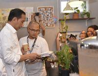 Presiden Jokowi mampir ke Kopi Tuku.
