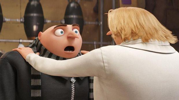 Gru dan Dru yang kembar menjadi fakta mengejutkan di Despicable Me 3.