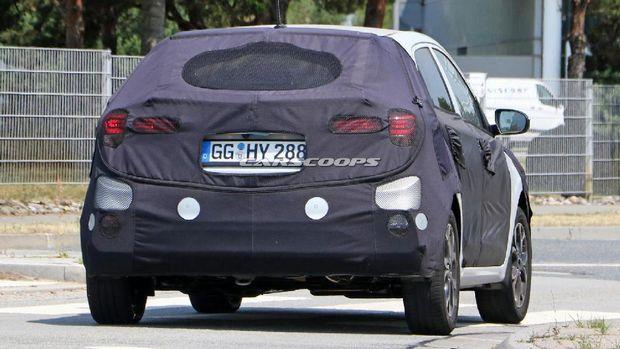 Hyundai i20 Baru, Pakai Lampu Belakang Mirip Mercy
