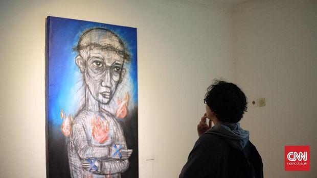 Karya seni Wahyudi Pratama bicara soal manusia.