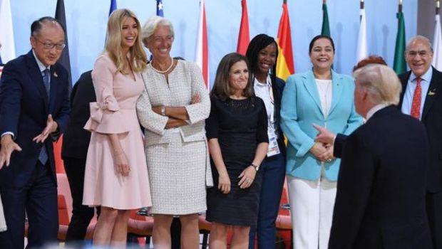 Ivanka Trump di KTT G20 Jerman.