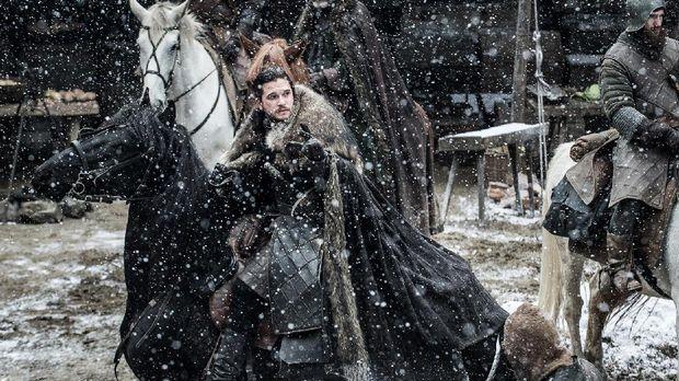 Jon Snow di Game of Thrones musim ke-tujuh.