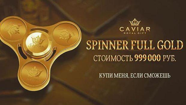 Wow! Fidget Spinner Ini Termahal di Dunia