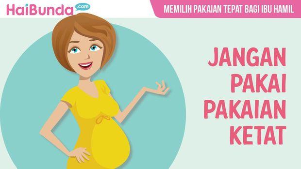 Tips memilih pakaian tepat bagi ibu hamil