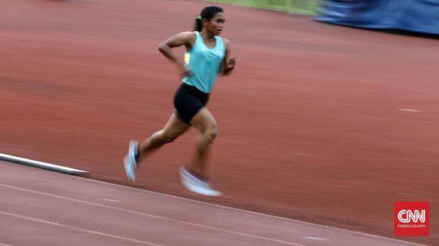 Atlet atletik harus menjalani pelatnas di berbagai tempat selama GBK direnovasi sejak awal 2017.