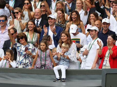 Anak Kembar Roger Federer