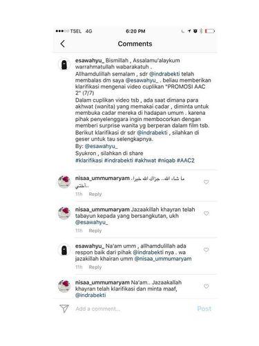 Indra Bekti Minta Maaf Terkait Video Tebak-tebakan Niqab yang Viral