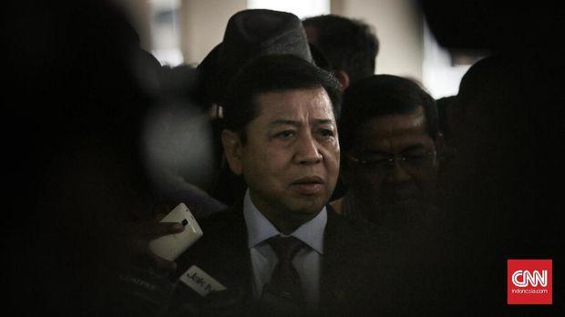 Lewat Munaslub Golkar, Setya Novanto resmi digantikan Airlangga Hartarto sebagai ketua umum Partai Golkar.