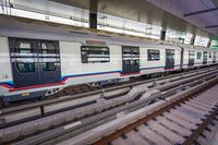 Kereta Buatan Jerman di MRT Pertama Malaysia