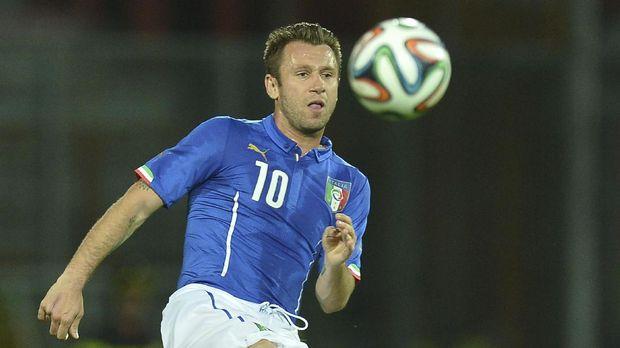 Antonio Cassano sempat bersinar di Timnas Italia.