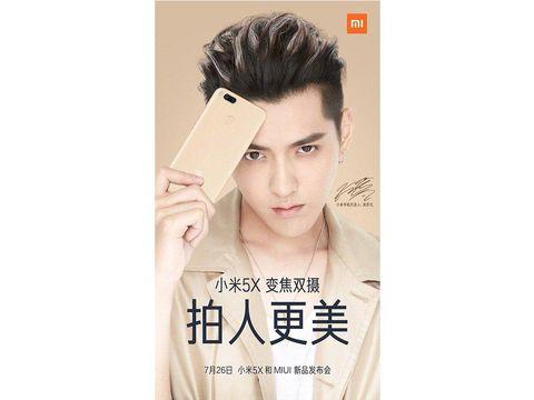 Xiaomi 5X Usung Dual Kamera