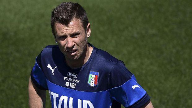 Antonio Cassano sempat ingin istirahat dari sepak bola.