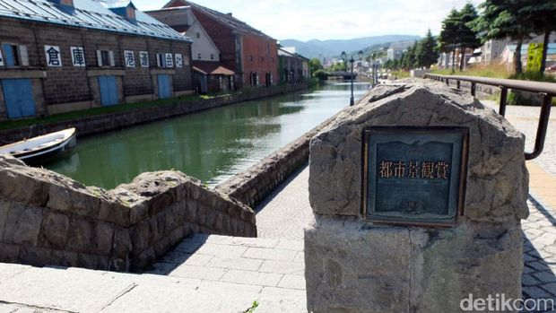 Inilah Kanal Otaru yang cukup bersejarah di Jepang (Baban/detikTravel)