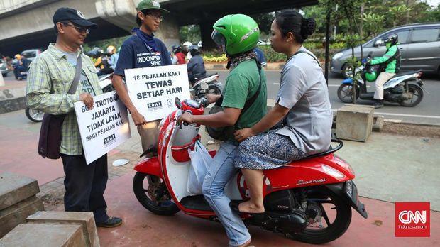 Bulan Tertib Trotoar, Ikhtiar Mengembalikkan Fungsi