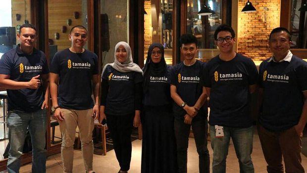 Tamasia merupakan perusahaan teknologi dengan platform digital pertama di Indonesia yang menyediakan jasa transaksi emas.