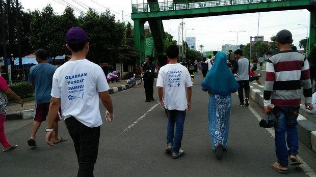 Bekasi Clean Action rutin hadir di kegiatan Car Free Day (dok Bekasi Clean Action)